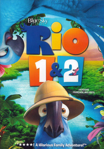 Rio Double Feature (Rio 1/Rio 2) (Bilingual) DVD Movie