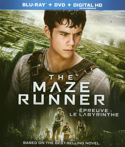The Maze Runner (Blu-ray+DVD)(Bilingual)(Blu-ray) BLU-RAY Movie