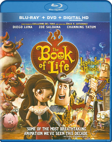 The Book of Life (Blu-ray+DVD)(Bilingual)(Blu-ray) BLU-RAY Movie