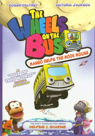 The Wheels on the Bus: Mango Helps the Moon Mouse DVD Movie