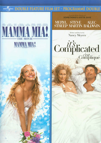 Mamma Mia! The Movie / It s Complicated (Double Feature) (Bilingual) DVD Movie