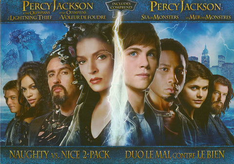 Percy Jackson & The Olympians/Sea of Monsters (Naughty vs. Nice 2-pack)(Bilingual)(Boxset) DVD Movie