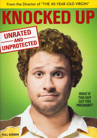 Knocked Up (Unrated and Unprotected (Full Screen Edition) DVD Movie