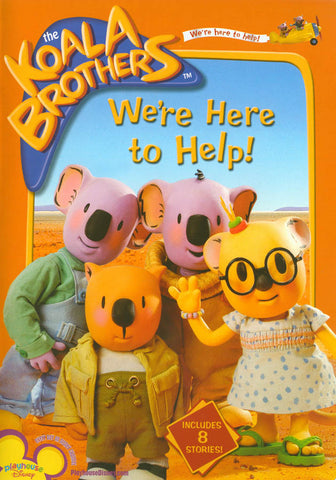 Koala Brothers: We're Here to Help DVD Movie