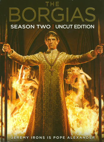The Borgias - Season Two (Uncut Edition) (Boxset) DVD Movie