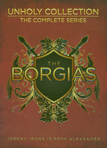 The Borgias - Unholy Collection (Boxset) DVD Movie