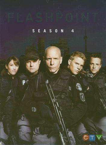 Flashpoint: Season 4 DVD Movie