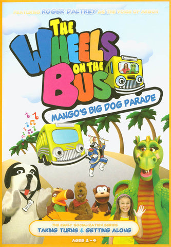 The Wheels on the Bus: Mango's Big Dog Parade DVD Movie
