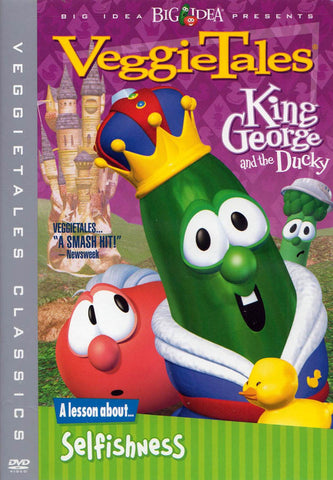 VeggieTales - King George and the Ducky (Sony) DVD Movie