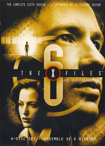 X-Files Season 6 (Bilingual) DVD Movie