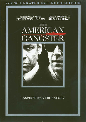 American Gangster (2-Disc Unrated Extended Edition) DVD Movie