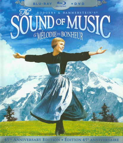 The Sound of Music (45th Anniversary Edition) BD + DVD Combo (Blu-ray) (2010) (Bilingual) BLU-RAY Movie