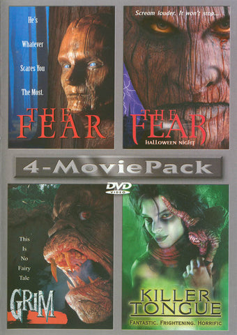 fear / the fear - halloween night / grim / killer tongue DVD Movie