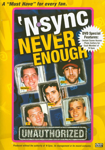 'N Sync - Never Enough - Unauthorized DVD Movie
