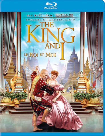 The King and I (Blu-ray) (Bilingual) BLU-RAY Movie