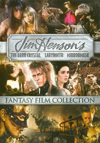 The Dark Crystal / Labyrinth / Mirrormask (Triple Feature) DVD Movie