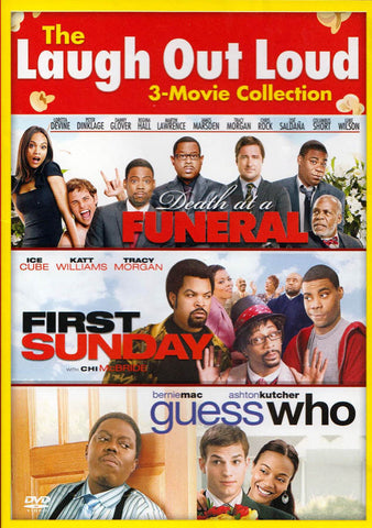Death at a Funeral / First Sunday / Guess Who (Triple Feature) DVD Movie