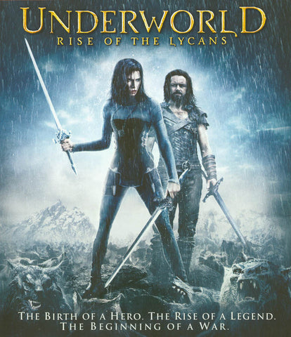 Underworld: Rise of the Lycans (Blu-ray) BLU-RAY Movie