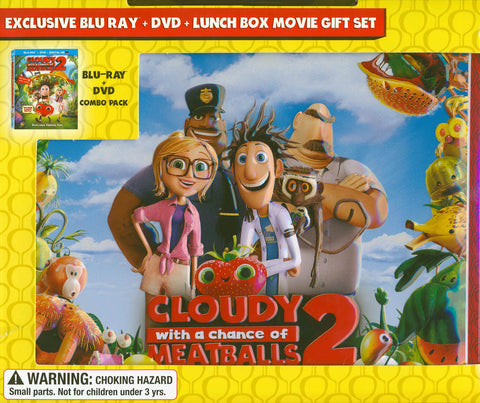 Cloudy With a Chance of Meatballs (DVD + Blu-ray + Lunchbox) (Blu-ray) BLU-RAY Movie