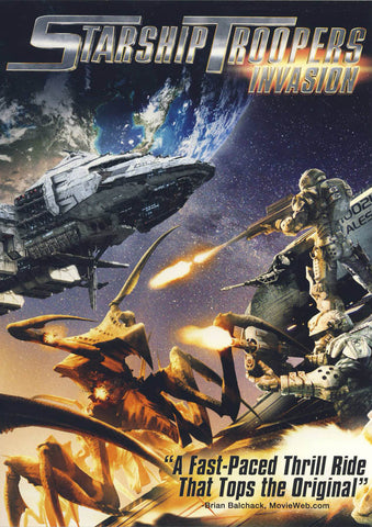 Starship Troopers - Invasion DVD Movie