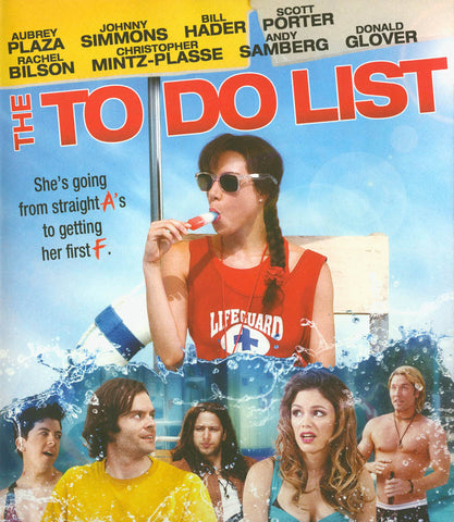 The To Do List (+UltraViolet Digital Copy) (Blu-ray) BLU-RAY Movie