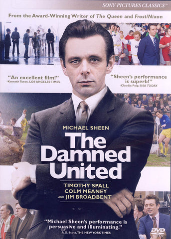 The Damned United DVD Movie