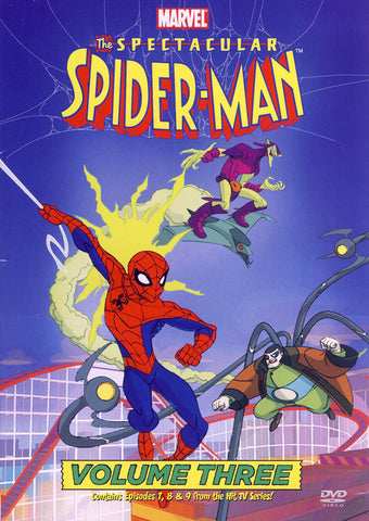 The Spectacular Spider-Man: Volume Three DVD Movie