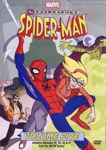 The Spectacular Spider-Man: Volume Five DVD Movie