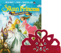 Swan Princess - A Royal Family Tale (Blu-ray+DVD+UltraViolet) (Blu-ray)