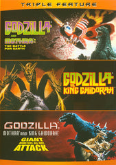 Godzilla vs. Mothra / Godzilla vs. King Ghidorah / Godzilla, Mothra, and King Ghidorah: Giant Monste