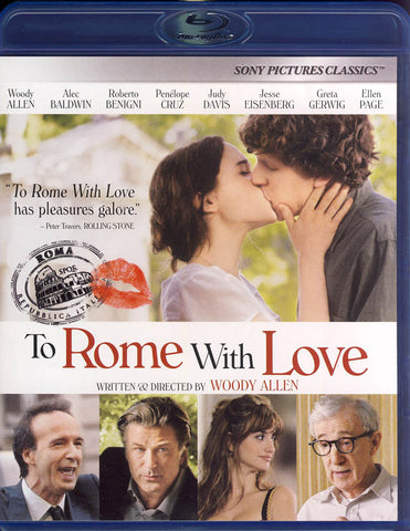To Rome With Love (Blu-ray) BLU-RAY Movie