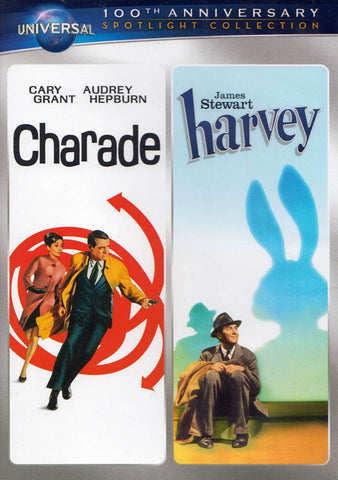 Charade / Harvey (Double Feature) DVD Movie
