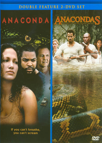 Anaconda / Anacondas - The Hunt For The Blood Orchid (Double Feature) DVD Movie