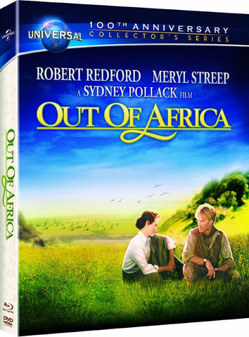 Out of Africa (Blu-ray + DVD + Digital Copy) (Booklet) (Bilingual) (Blu-ray) BLU-RAY Movie