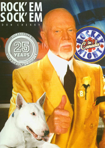 Don Cherry s RockEm SockEm Hockey 25 DVD Movie
