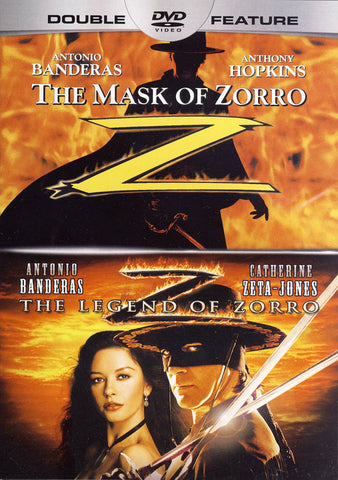 The Mask of Zorro / The Legend of Zorro (Double Feature) (Grey Spine) DVD Movie