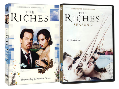 The Riches - Season 1 and 2 (Boxset) DVD Movie