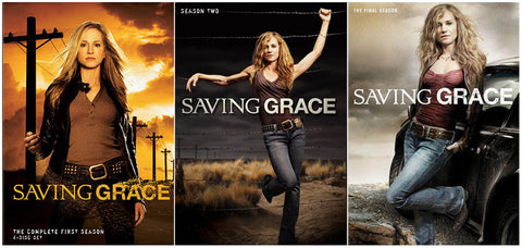 Saving Grace - Complete Series (3 Pack) (Boxset) DVD Movie