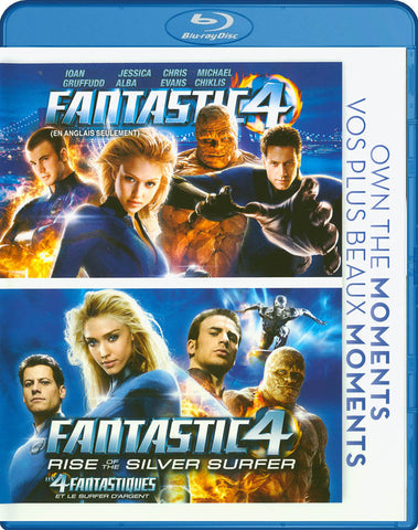 Fantastic 4 / Fantastic 4 - Rise of the Silver Surfer (Bilingual) (Double Feature) (Blu-ray) BLU-RAY Movie