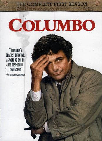 Columbo - The Complete First Season (Keepcase) (Boxset) DVD Movie