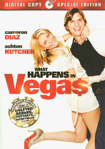 What Happens in Vegas (Extended Jackpot Edition + Digital Copy) DVD Movie