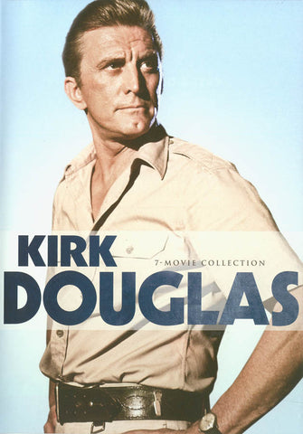 Kirk Douglas - 7 Movie Collection (Cast a Giant Shadow, The Fury, The Indian Fighter)(Boxset) DVD Movie
