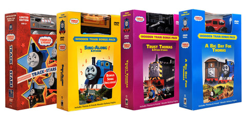 Thomas and Friends Movie & Train Set Collection # 3 (Boxset) DVD Movie