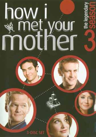 How I Met Your Mother - The Complete Season Three (3) (Boxset) DVD Movie