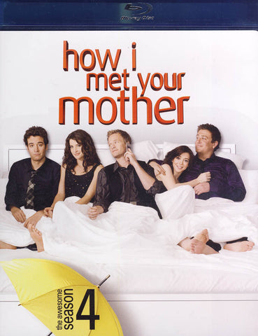 How I Met Your Mother - The Awesome Season 4 (Blu-ray) BLU-RAY Movie