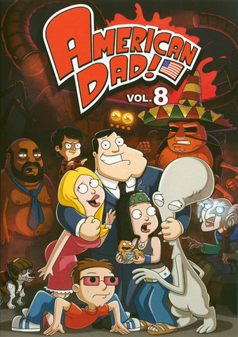 American Dad! - Volume 8 DVD Movie