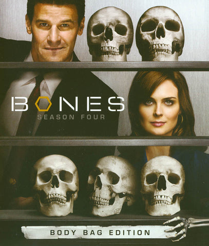 Bones - Season Four (4) (Body Bag Edition) (Blu-ray) BLU-RAY Movie