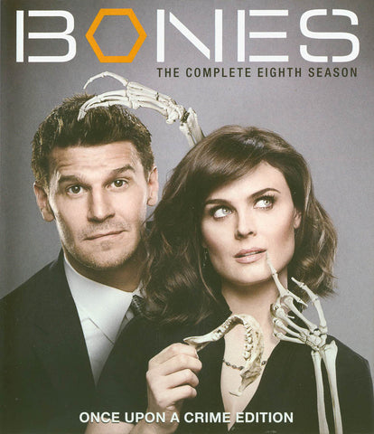 Bones - The Complete Eighth (8) Season (Once Upon A Crime Edition) (Blu-ray) BLU-RAY Movie