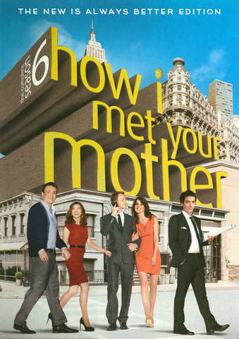 How I Met Your Mother - The Complete Season 6 (The New is Always Better Edition) DVD Movie