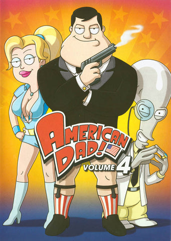 American Dad! - Volume 4 DVD Movie